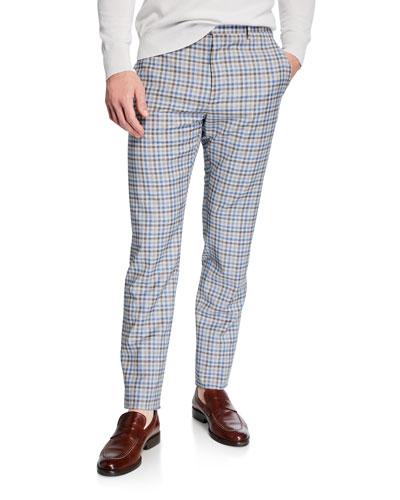 Men's Lightweight Tattersall Check Pants