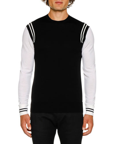 Men's Wool Varsity Jumper Sweater