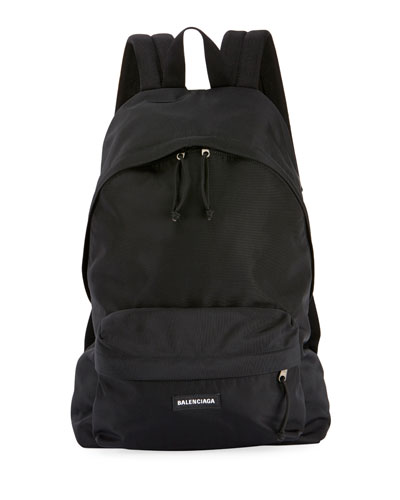 Men's Explorer Logo-Patch Backpack
