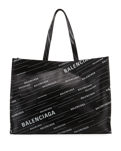 Men's Market Shopper Logo Tote Bag