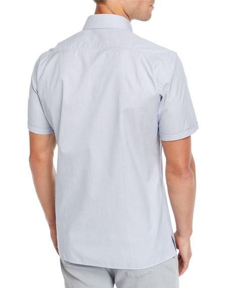 Men's Woven Short-Sleeve Sport Shirt