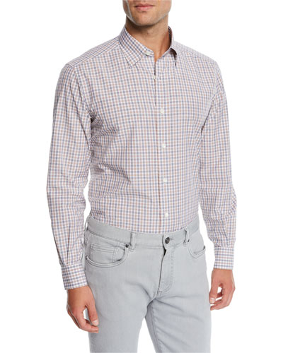 Men's Vichy Check Sport Shirt