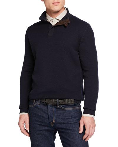 Men's High Performance Zip Sweater