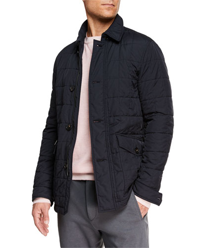 Men's Quilted Husky Jacket