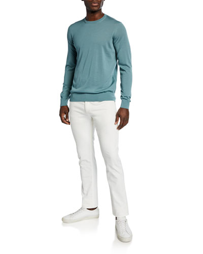Men's Stretch-Twill Denim Jeans