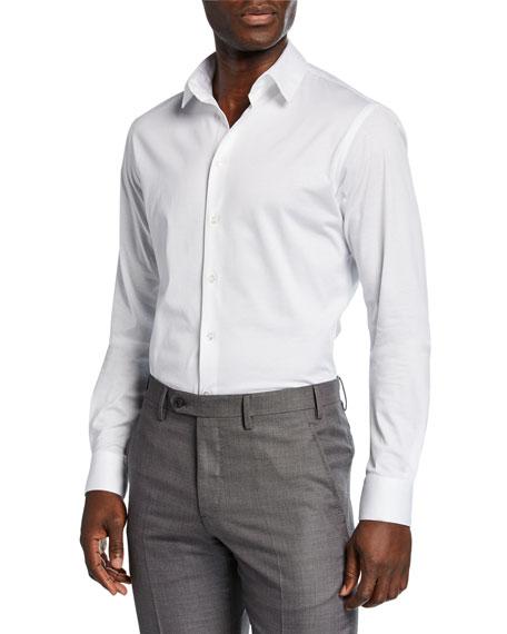 Giorgio Armani T-shirts MEN'S SOLID JERSEY SPORT SHIRT