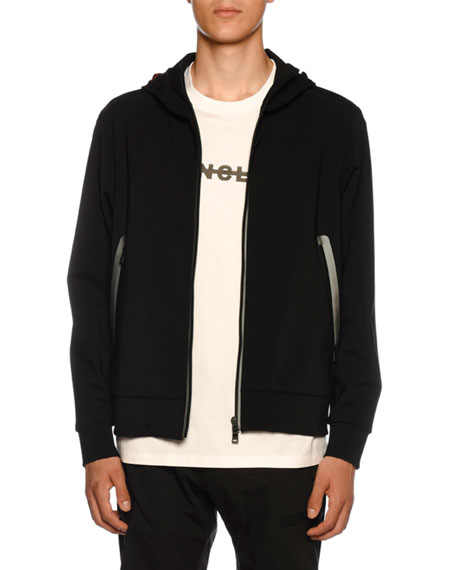 Men's Derek Hooded Zip-Front Jacket