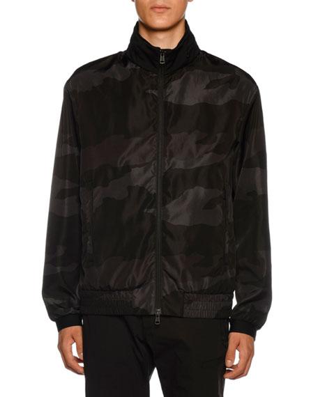 Men's Theodore Camo Nylon Jacket