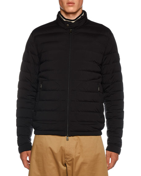 Moncler Acorus Quilted Stretch Nylon Jacket