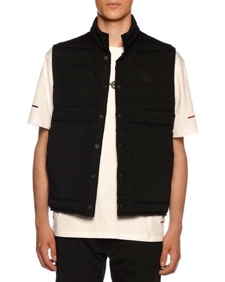 1f391bc1d Men's Merak Snap-Front Vest in Black