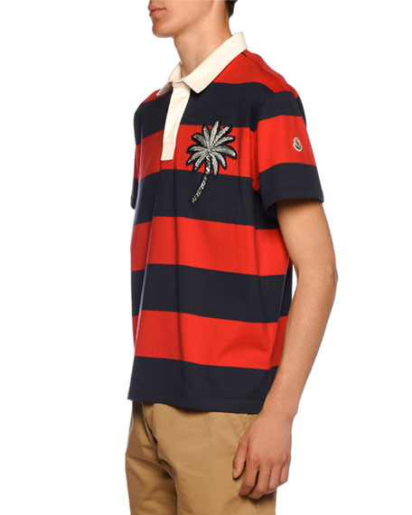 Men's Paradise Patch Rugby Polo Shirt