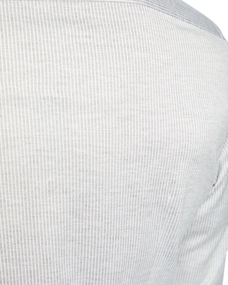 Men's Oxford Stripe Sport Shirt
