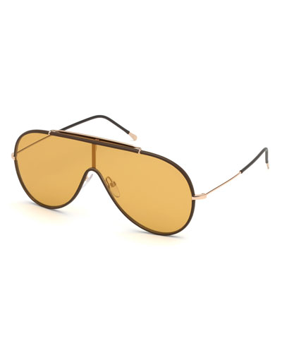 bee50888eaf6 Promotion Men s Mack Shield Metal Sunglasses Quick Look. TOM FORD