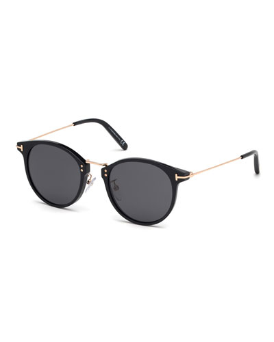 Men's Jamieson Metal and Plastic Sunglasses