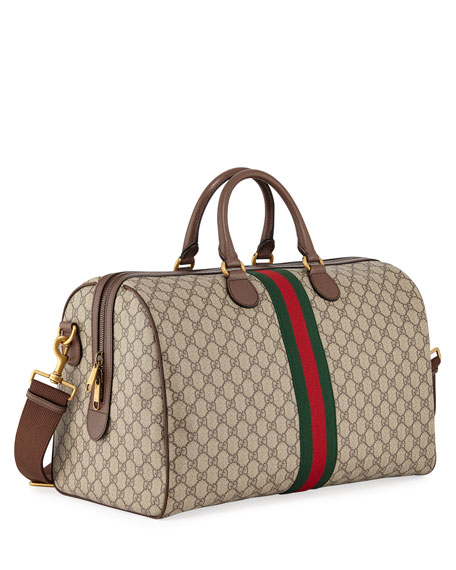 0ebeaecf9 Gucci Men's Soft GG Supreme Carry-On Duffel Bag