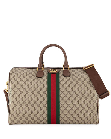 c53b861a9461c2 Gucci Men's Soft GG Supreme Carry-On Duffel Bag