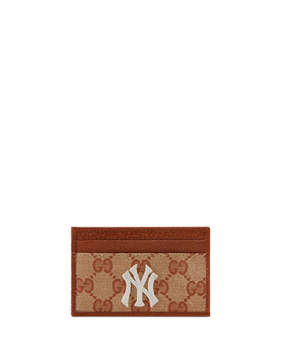 Men's Credit Card Case with NY Yankees™ Patch