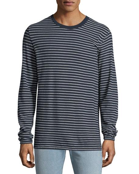 Rag & Bone Men's Pin-Thin Striped Long-Sleeve T-Shirt
