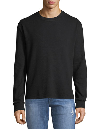 Men's Long-Sleeve Crewneck T-Shirt