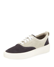 Men's 101 Colorblock Suede Low Top Sneakers by Fear Of God