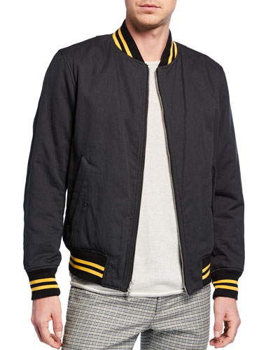Men's Manston Reversible Bomber Jacket