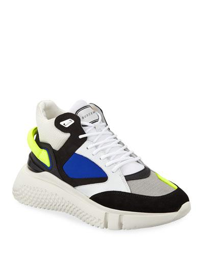 Men's Veloce Mid-Top Rubber Sneakers