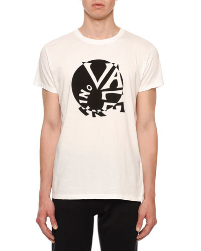 Men's Optical Illusion Logo T-Shirt