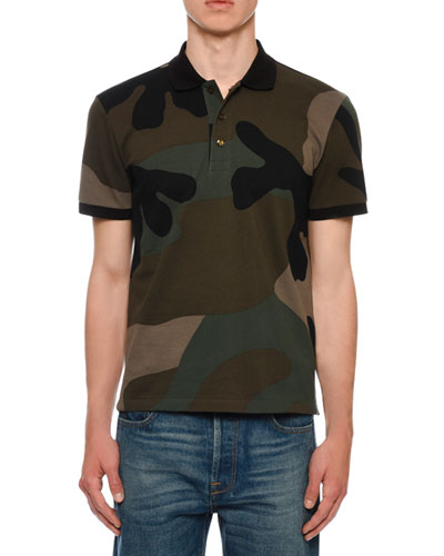 Men's Army Camo Polo Shirt