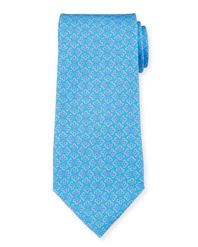 Portofino Floral Clusters Tie