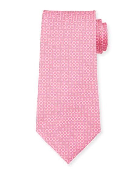 Flowers Portofino Tie, Pink