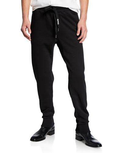 Men's Solid Cotton Sweatpants