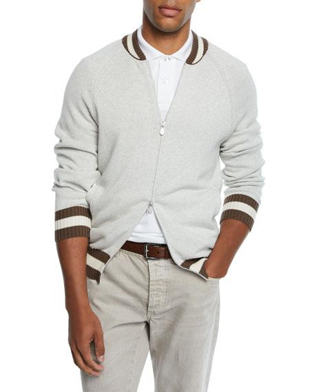 Brunello Cucinelli Men's Full Zip Cardigan