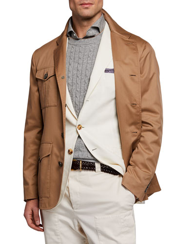 Men's Safari Silhouette Solaro Jacket