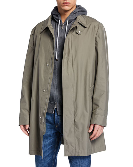 Brunello Cucinelli Trenchcoats MEN'S LIGHTWEIGHT TRENCH COAT
