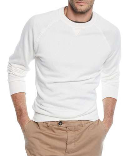 Men's Raglan Pullover Sweater