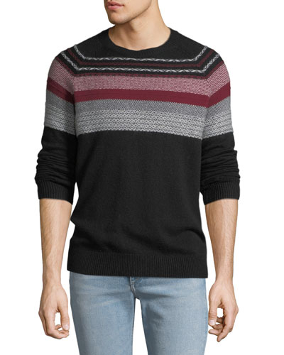 Men's Merino Fair Isle Sweater
