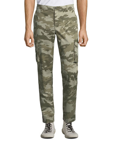 Men's Stretch Twill Cargo Pants