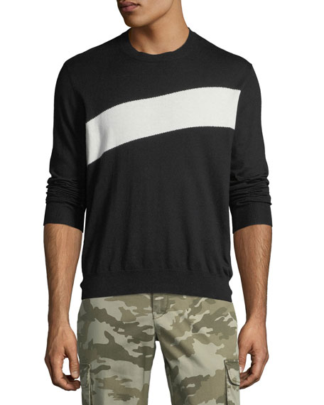 ATM Anthony Thomas Melillo Men's Crewneck Sweater with