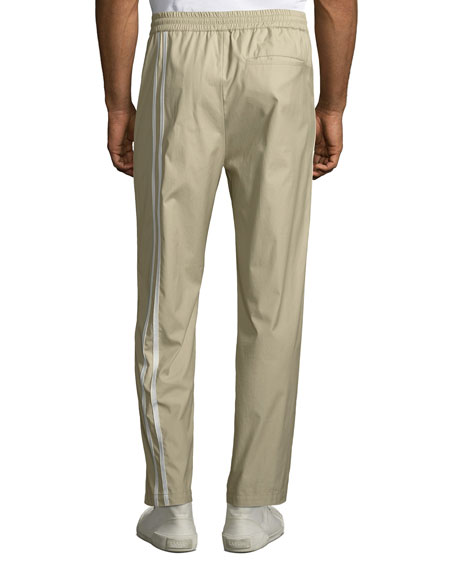 Men's Sport Striped Cotton Pants
