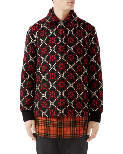 Gucci Mens Clothing Shirts Jackets At Bergdorf Goodman