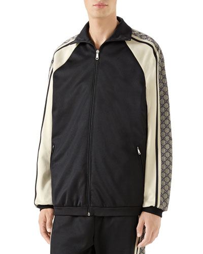 Men's GG Logo Track Jacket