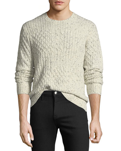 Men's Block Cable Shirt