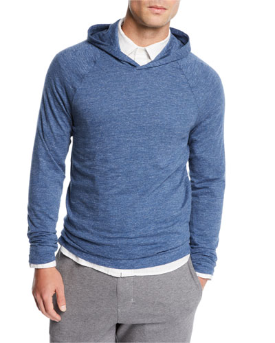 Men's Hooded Pullover Sweater