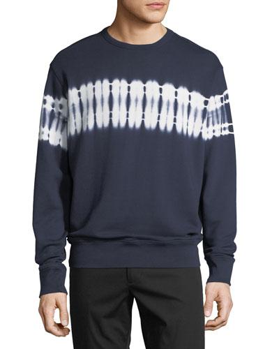 Men's Shibori Tie Dye Sweater