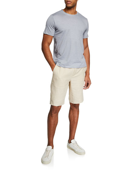 Men's Raw Hem Track Shorts