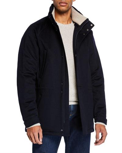 Men's Icer Cashmere Coat