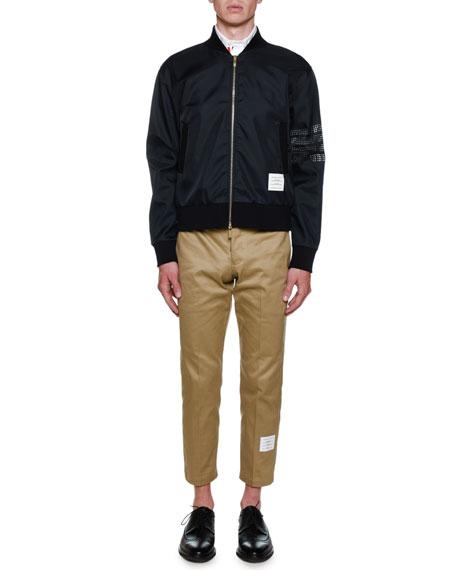 Men's Bomber Ripstop Bonded Jersey Jacket