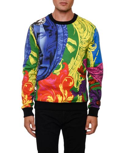 Men's Multi Baroque Sweatshirt