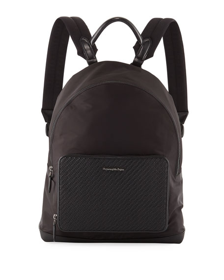 Ermenegildo Zegna Men's Nylon Backpack