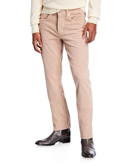 Men's Straight Fit Corduroy Pants